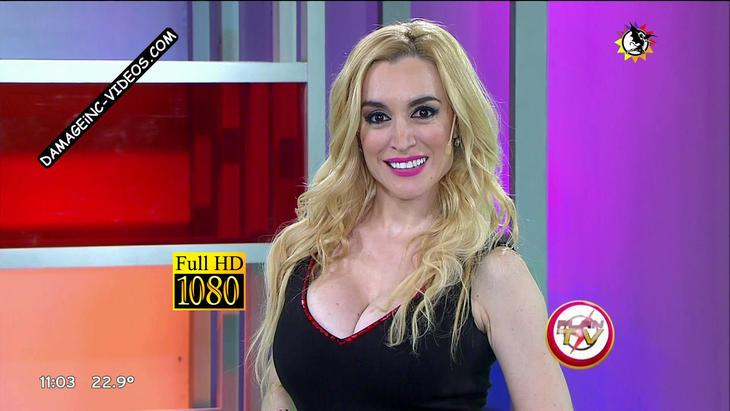 Fatima Florez huge tits cleavage Damageinc Videos HD