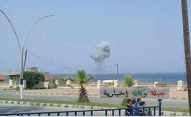 Рядом с побережьем Сирии разбился российский самолет