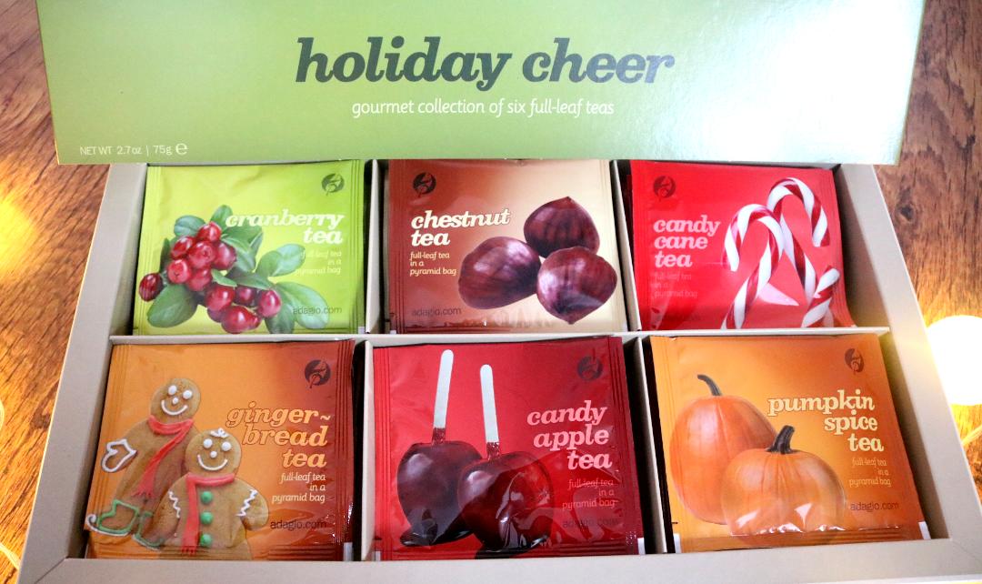 Adagio Teas Holiday Cheer Gourmet Teabag Set