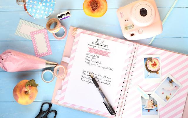 Süße Sofortbilder für mein Rezeptbuch: Fujifilm Instax mini 8 [Give Away]