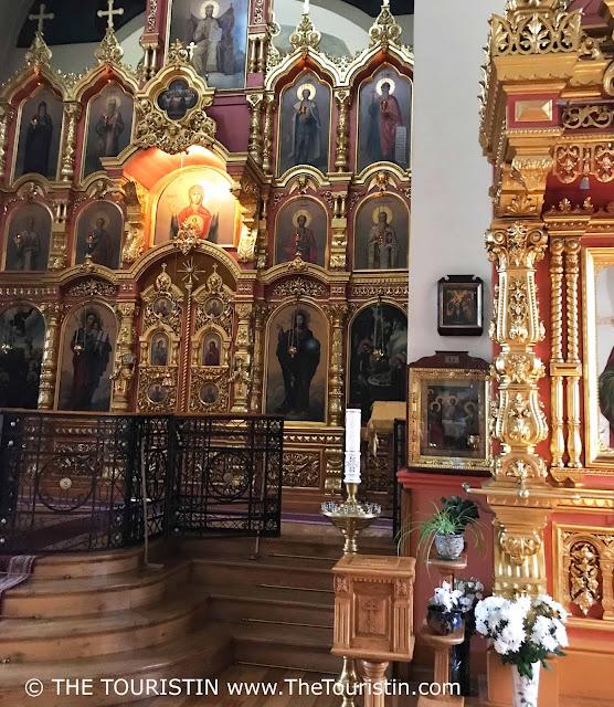 Holy Trinity Orthodox Church in Āgenskalns interior