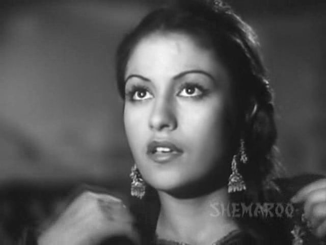 Screen Shot Of Hindi Movie Najma (1943) Download And Watch Online Free at worldfree4u.com