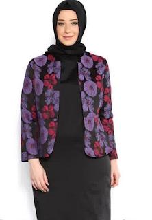 Model Baju Batik Wanita Gemuk9
