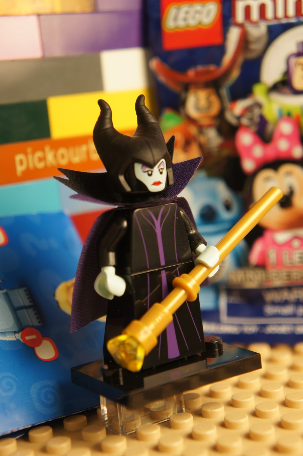 Lego Maleficent Minifigure LEGO Disney 710...