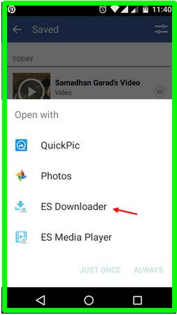 facebook video downloader app for android