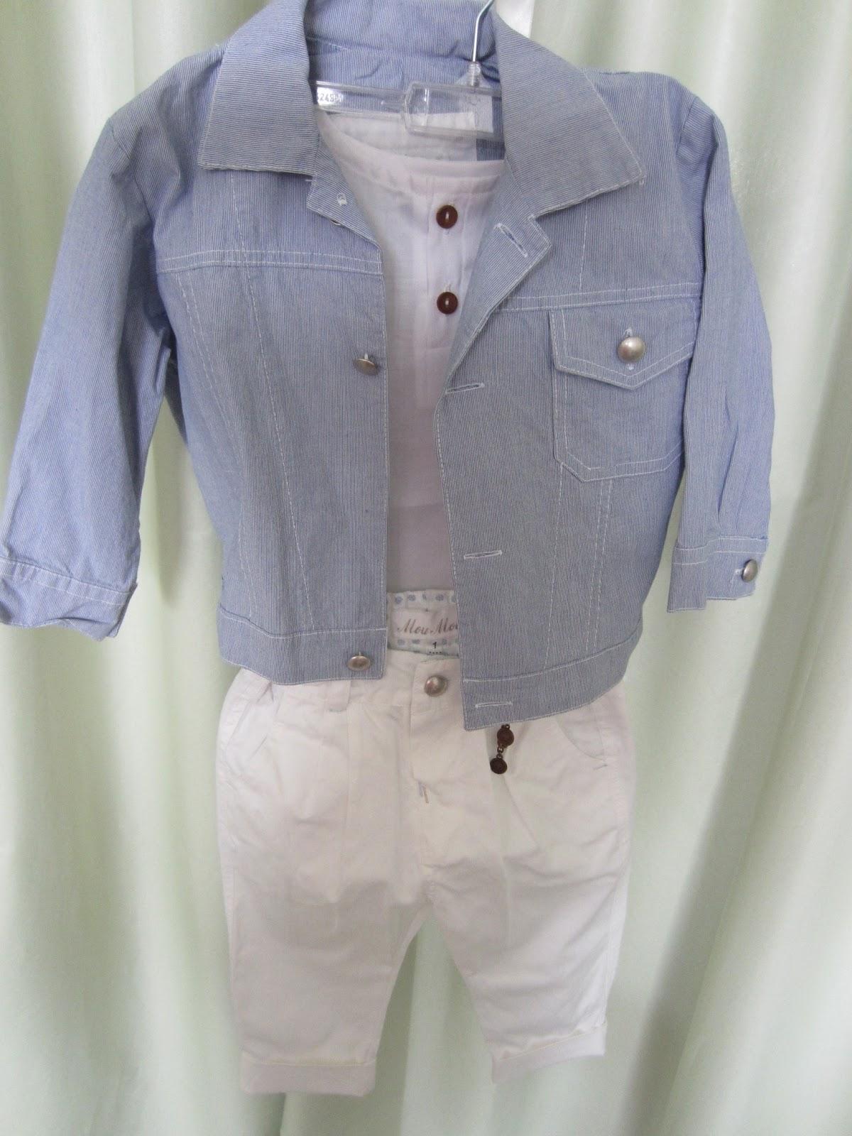 3b5b88b5bcc Παντελόνι, πουκαμίσα, σακάκι και καπέλο. Νο 1. Τιμή: 60 ευρώ.