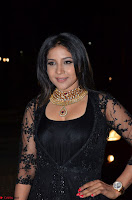 Sakshi Agarwal looks stunning in all black gown at 64th Jio Filmfare Awards South ~  Exclusive 108.JPG