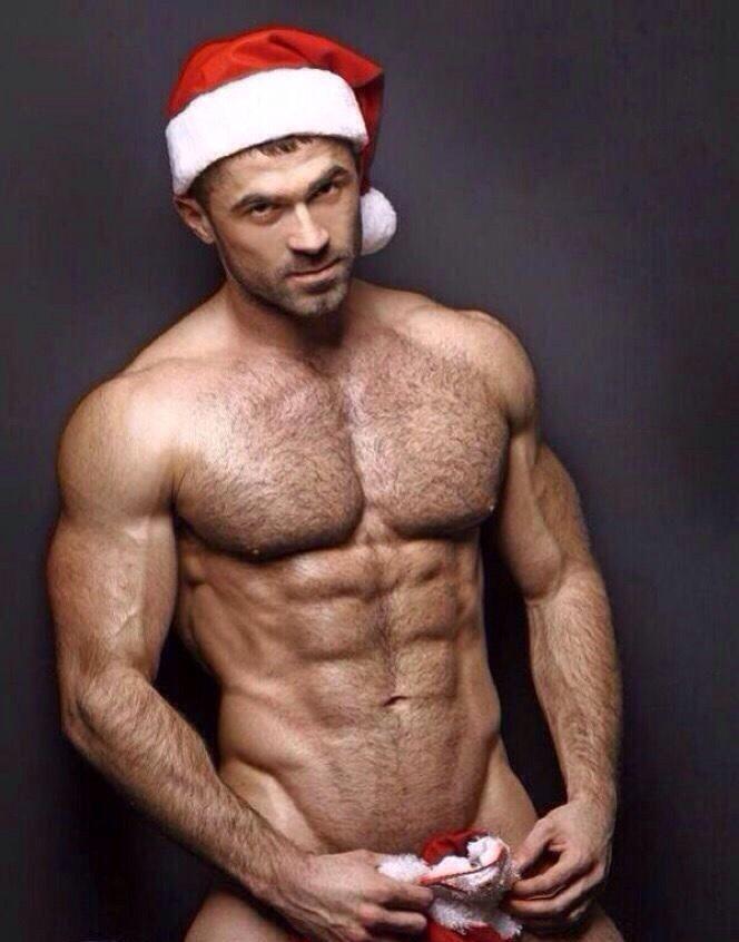 Sexy santa male model #2