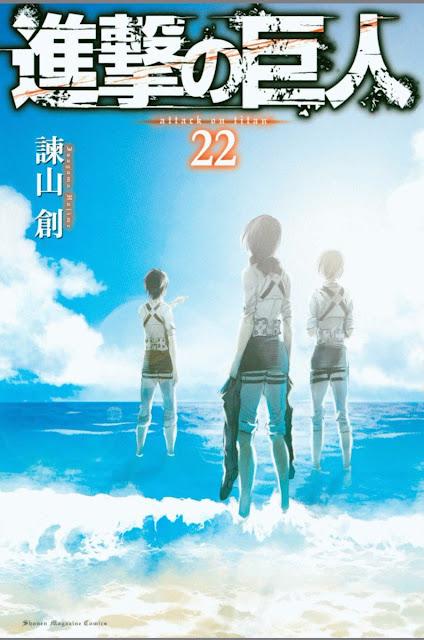22 tom Shingeki no Kyojin