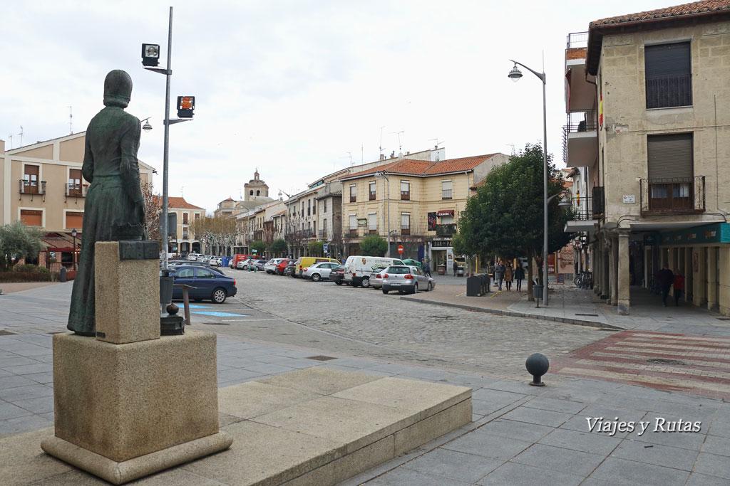 Plaza del arrabal, Arévalo