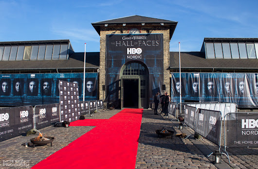 Game of Thrones - The Hall of faces exhibition