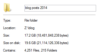 Too many photos, too many folders