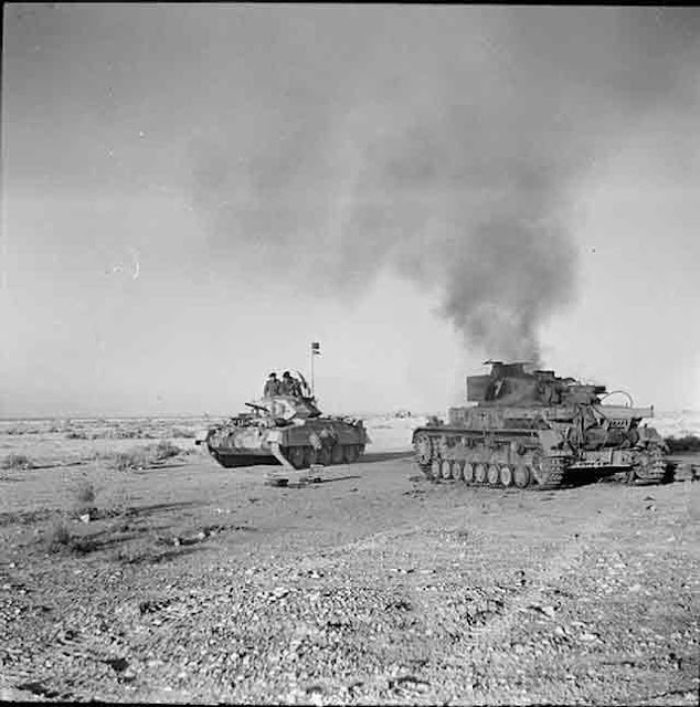 Tanks in North Africa, 27 November 1941 worldwartwo.filminspector.com