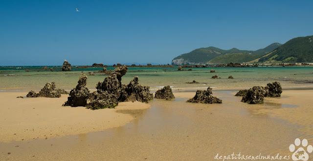 Playa de Trengandín, Noja, Cantabria