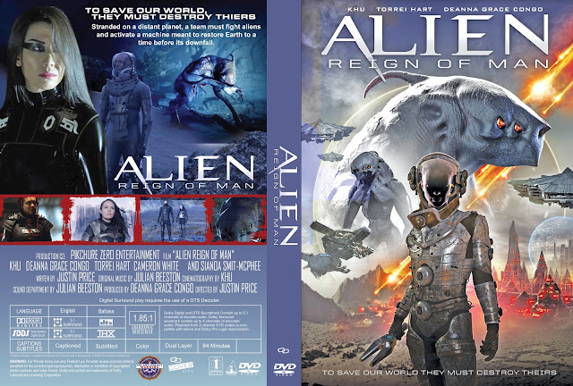 Alien Reign of Man DVD Cover