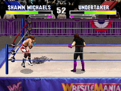 Videojuego WWF WrestleMania The Arcade Game