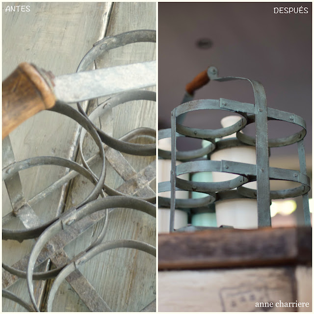 www.annecharriere.com, antigua lechera, pintura de leche, www.homesteadhouse.ca,
