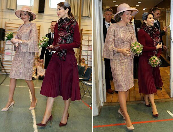 Princess Mary and Queen Mathilde wore Prada, Massimo Dutti blazer