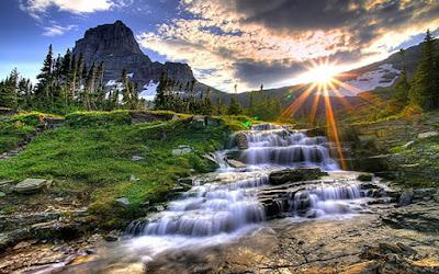 مناظر طبيعية شروق الشمس