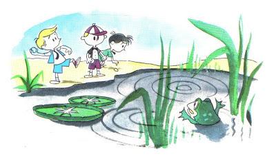 fabula los muchachos y las ranas