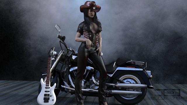 3D Art, 3D Artwork, Digital Art, Country Female Singer, Blues Female Singers, Western, Country, Hottest Country Female Singers