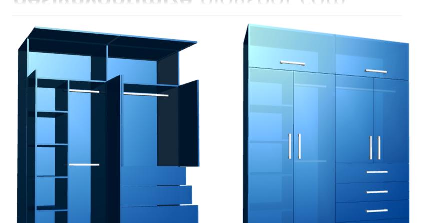 Dise o de muebles madera como crear un closet o armario - Como disenar un armario ...