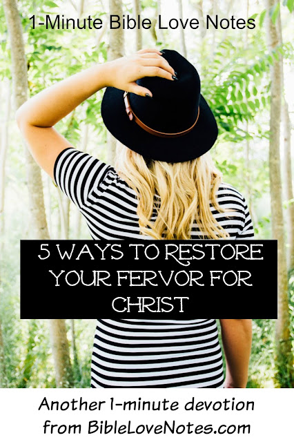 Restoring our love for Christ, Being a Genuine Christian, Growing in Christ