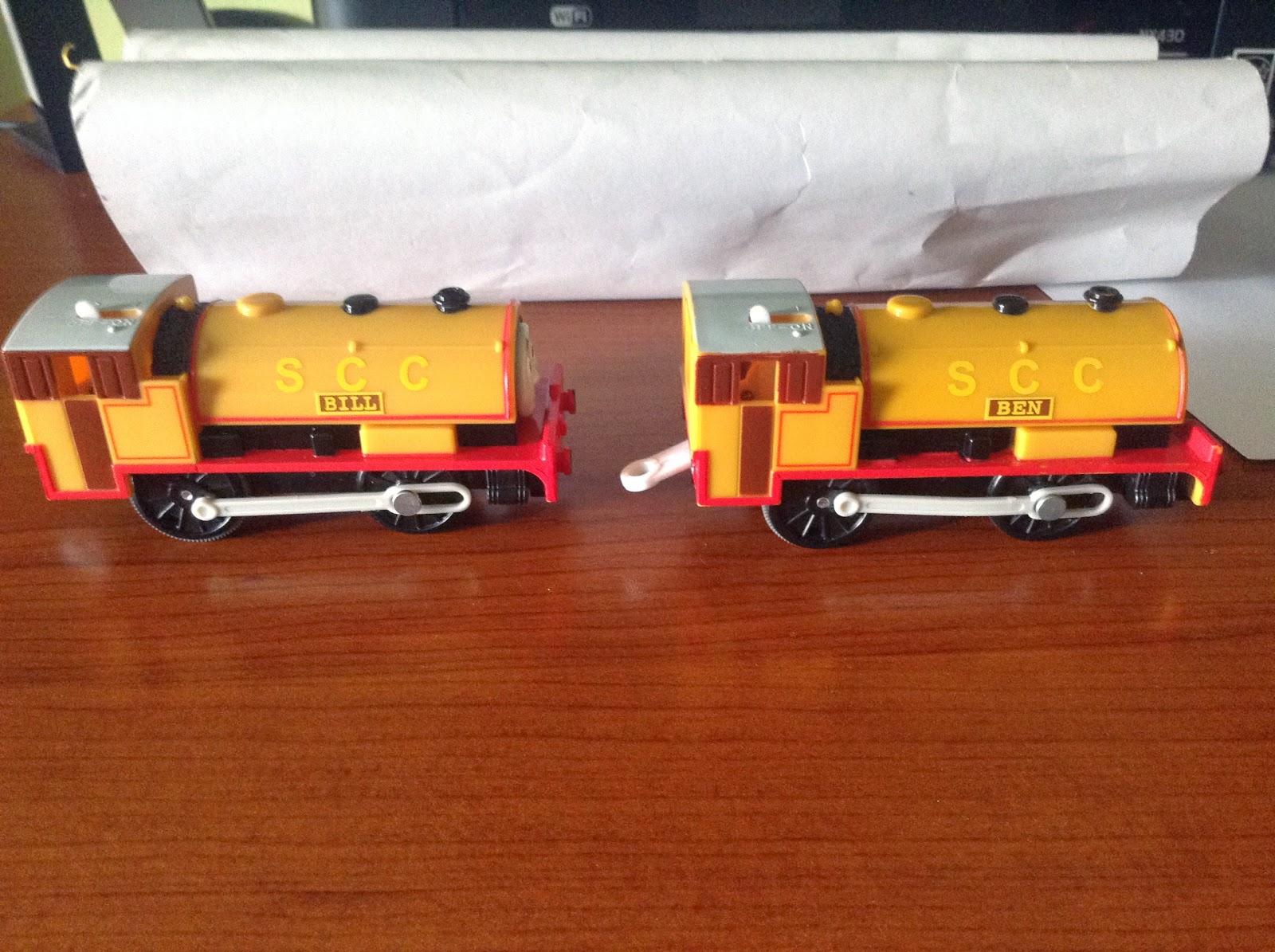tomy trackmaster meet the twins bones