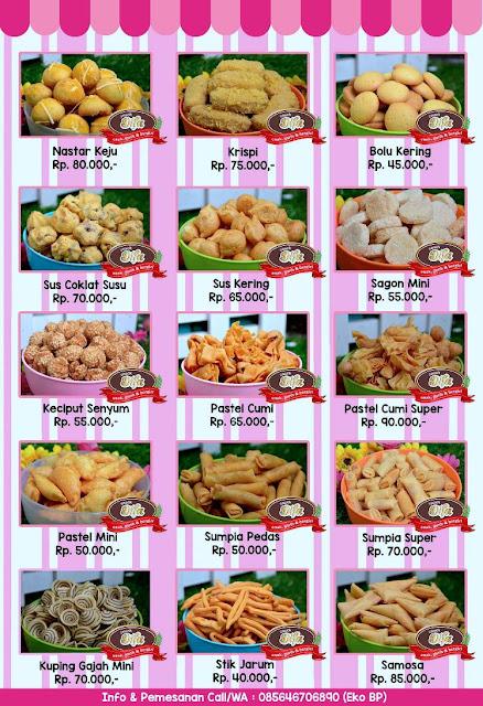 Tempat Jual Grosir Snack Lebaran di Malang