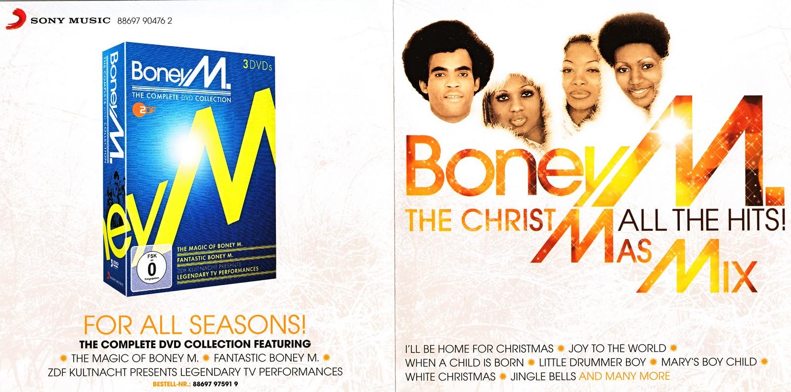 Boney M. Mania: Boney M - The Christmas Mix (All The Hits 2011)