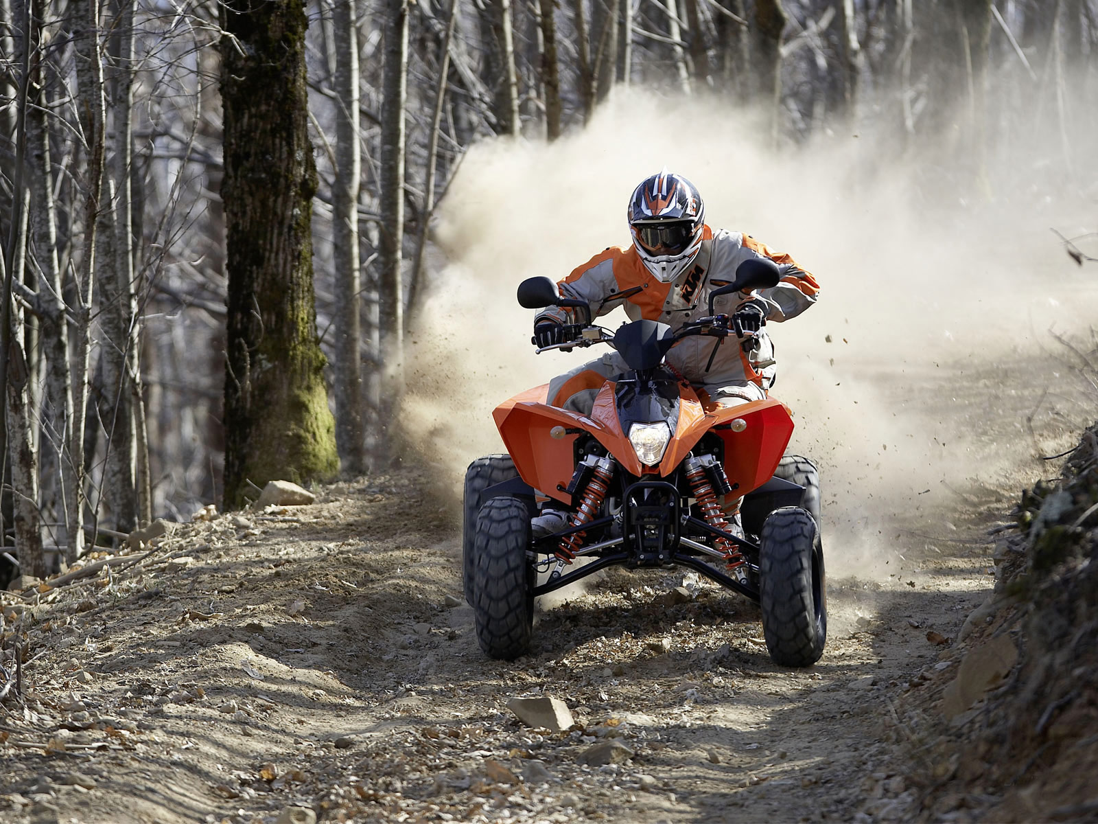 110 Wallpapers 2: 2010 KTM 525 XC ATV Pictures And Specifications