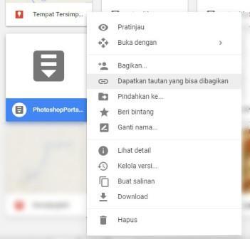 Cara Mendapatkan Link File Di Google Drive Kemejingnet