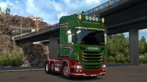 Green Vabis Skin for Scania RJL