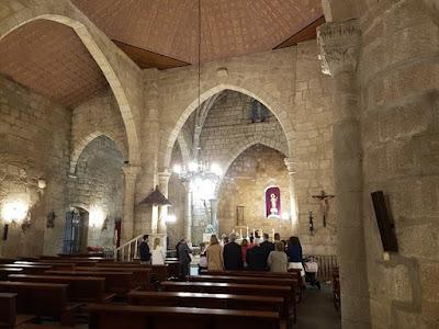 La Basílica de Santa Eulalia por dentro