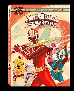 DVD Review - Power Rangers Ninja Steel: The Complete Season