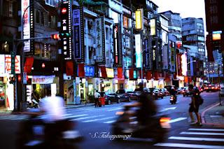 台湾旅行 台北の夕景