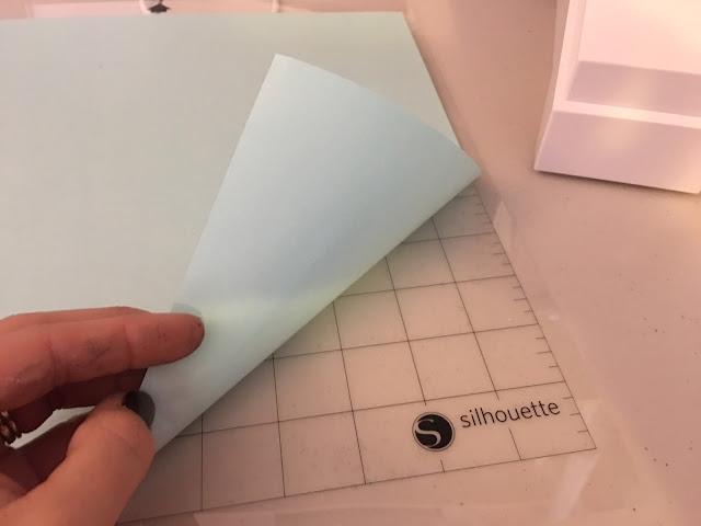 Silhouette cutting mat, silhouette cutting mat too sticky, silhouette cutting mat beginner