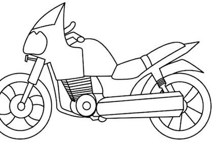 Dibujos De Motos Para Imprimir Y Colorear