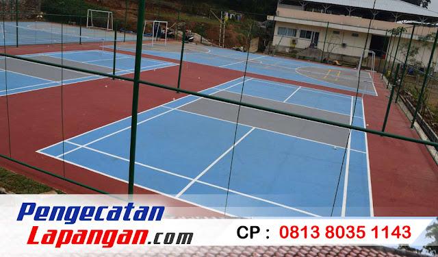 pengecatan lapangan olahraga, tenis, lapangan tenis, cat lapangan tenis