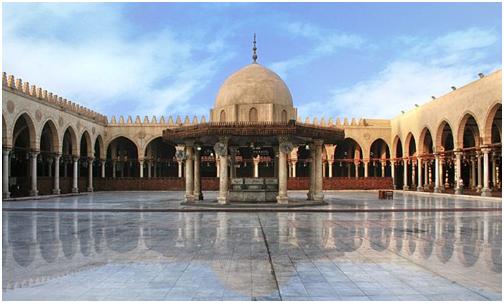 Masjid Amru Bin Ash Tempat Sujud Pertama di Afrika