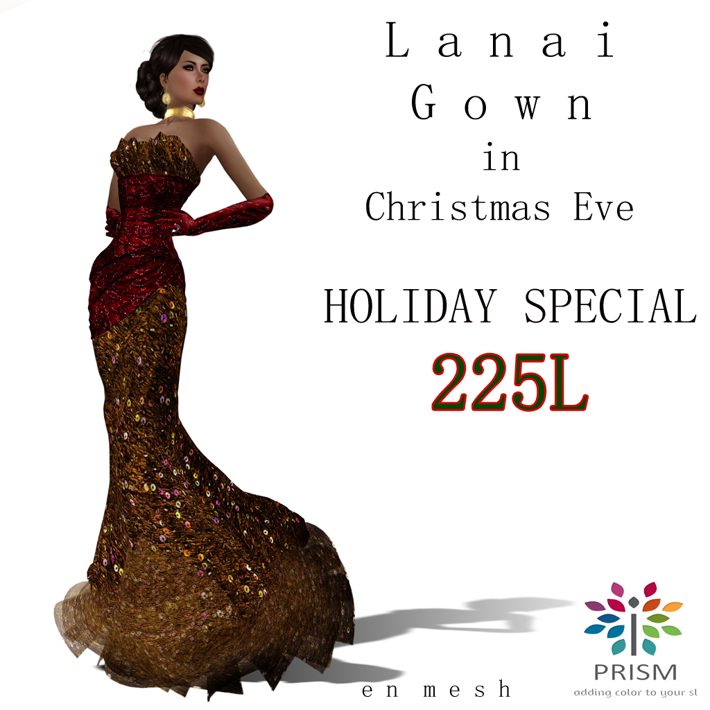 PRISM DESIGNS Fashions for SL: PRISM ~ Holiday Special ...