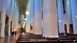 Widok wnętrza-Katedra Frauenkirche