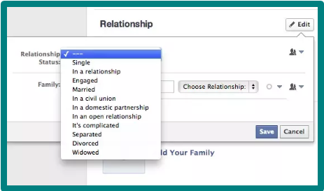 Change Relationship Status On Facebook