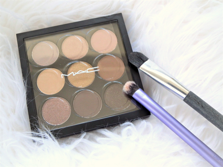 Mac - Amber Times Nine Eyeshadow Palette Review