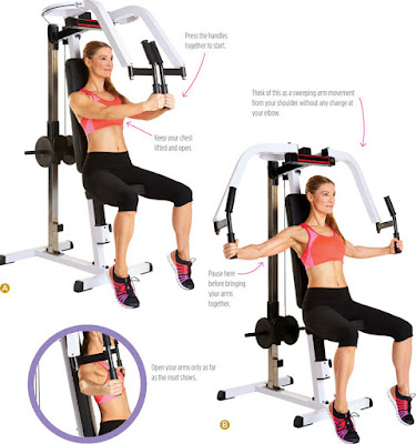 women's health - SEATED UPRIGHT CHEST FLY