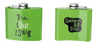 Bright Side Gardener's Hip Flask