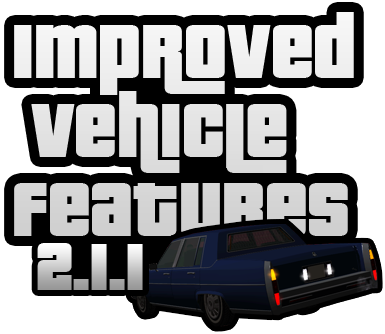 gta sa ivf imvehft improved vehicle features logo