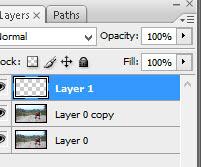 tambahkan layer baru