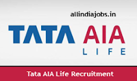 Tata AIA Life Recruitment