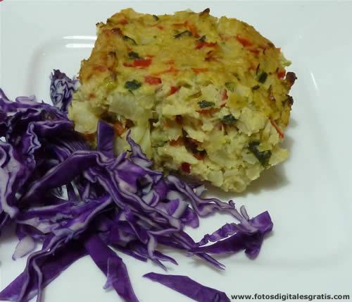 comida natural,cocina naturista,alimentacionsana,receta integral,budin vegetariano